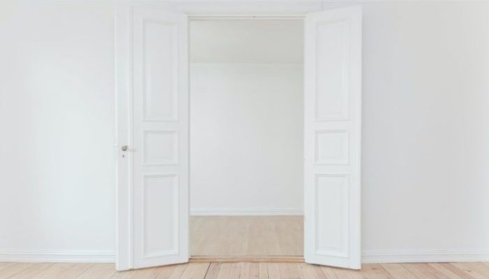 how much can you cut off a solid core door