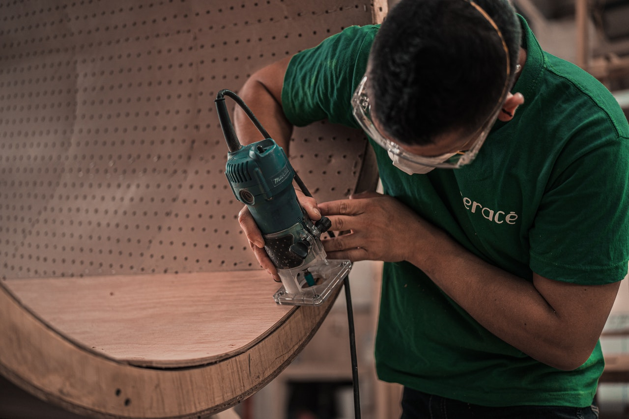 can you use a router on mdf